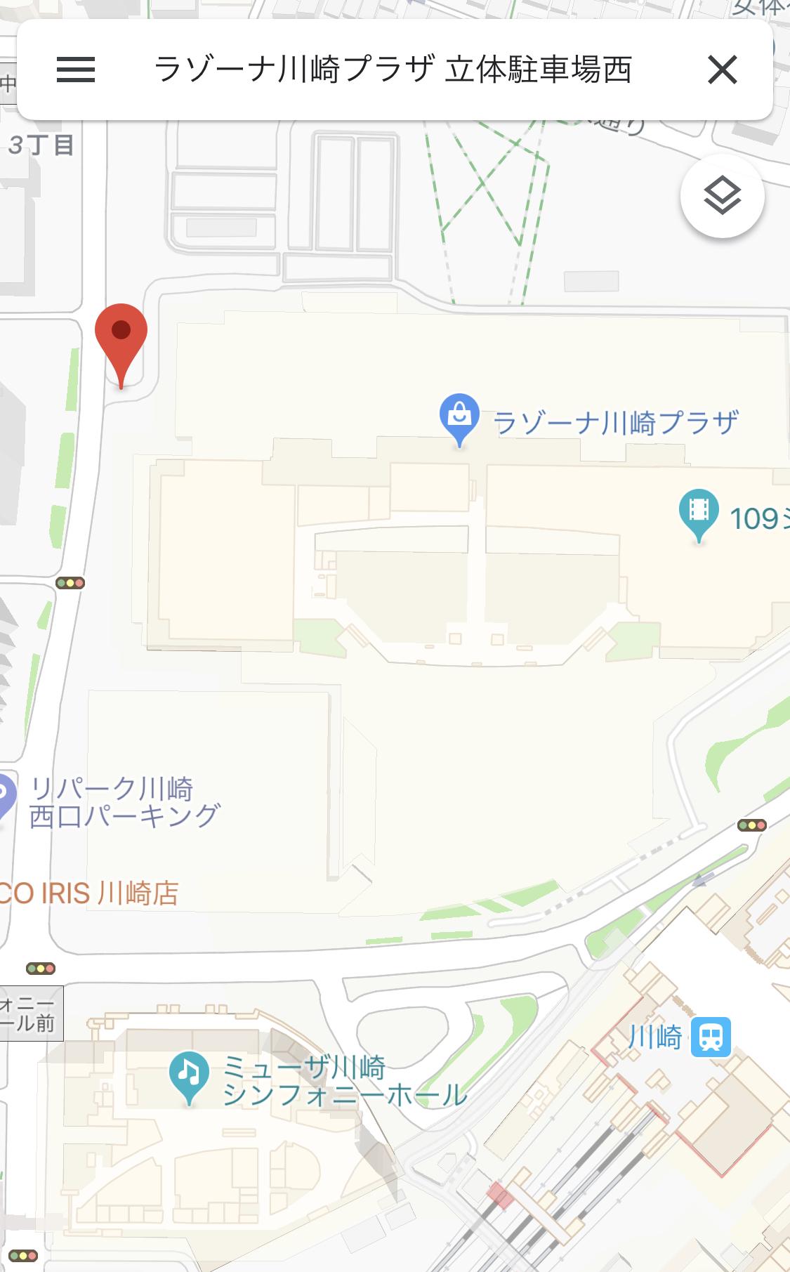 プラザ 車場 駐 川崎 ラゾーナ